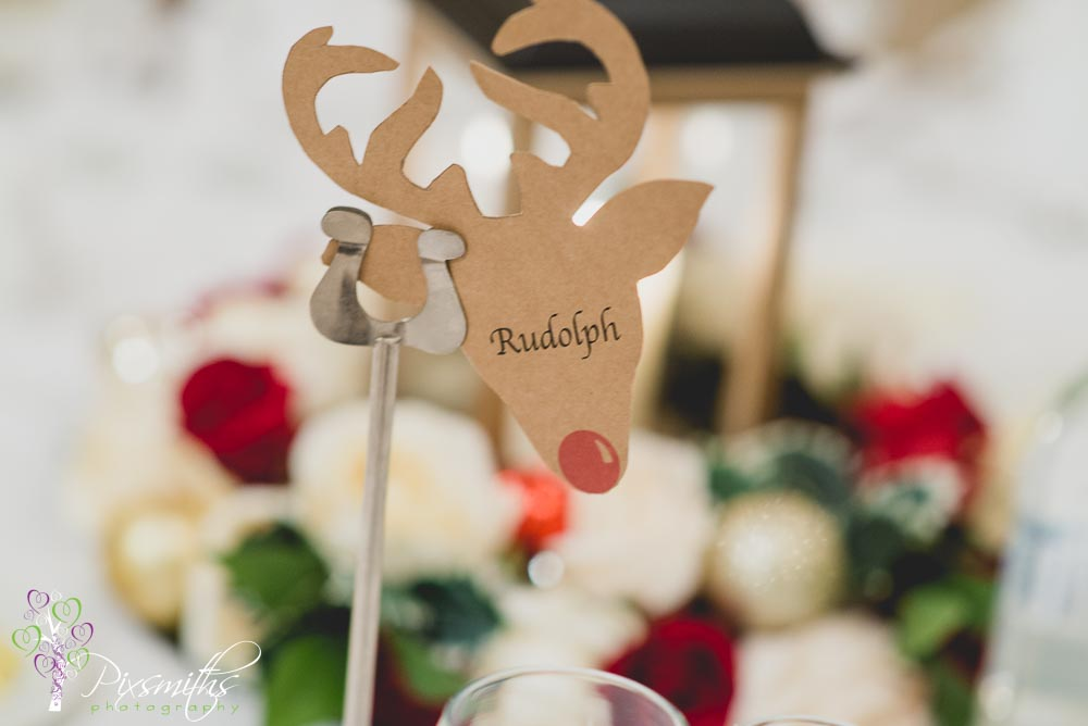 festive table names ideas