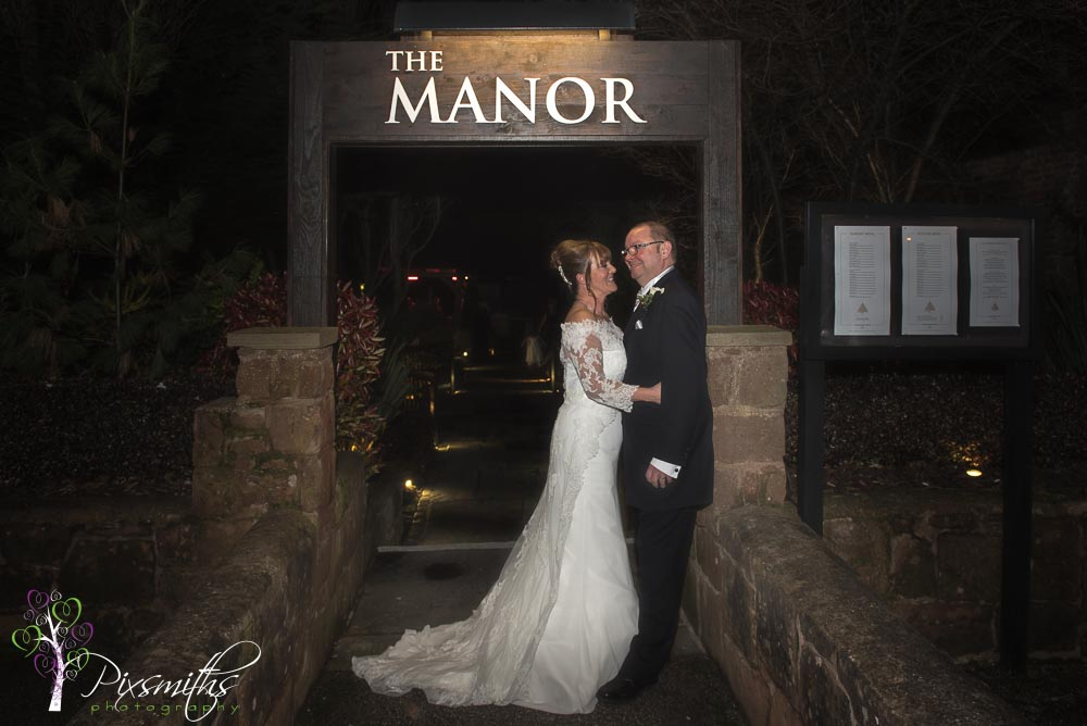 wedding reception The Manor Function Suite Greasby