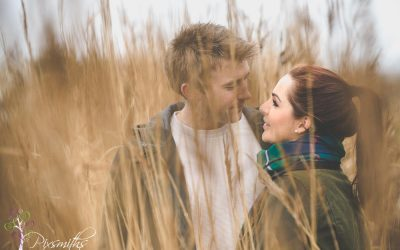 Caldy Beach  Engagement Shoot: Jennie and Toby