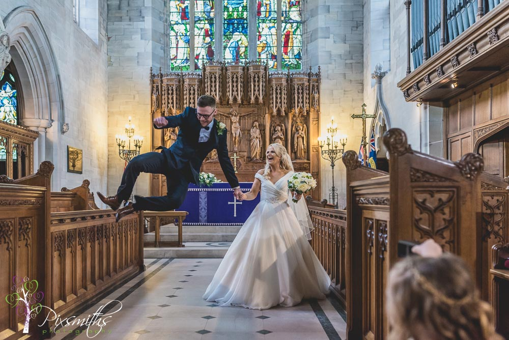 real jump capture fro real Wirral wedding stories