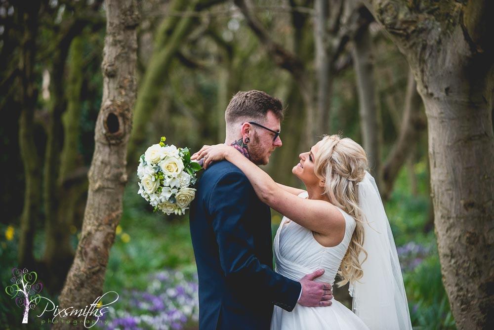 leasowe Castle wedding photography bridal portraits