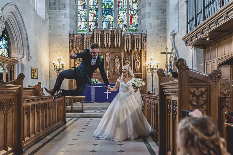 Leasowe Castle Wedding Photographer: Rachael & Jon