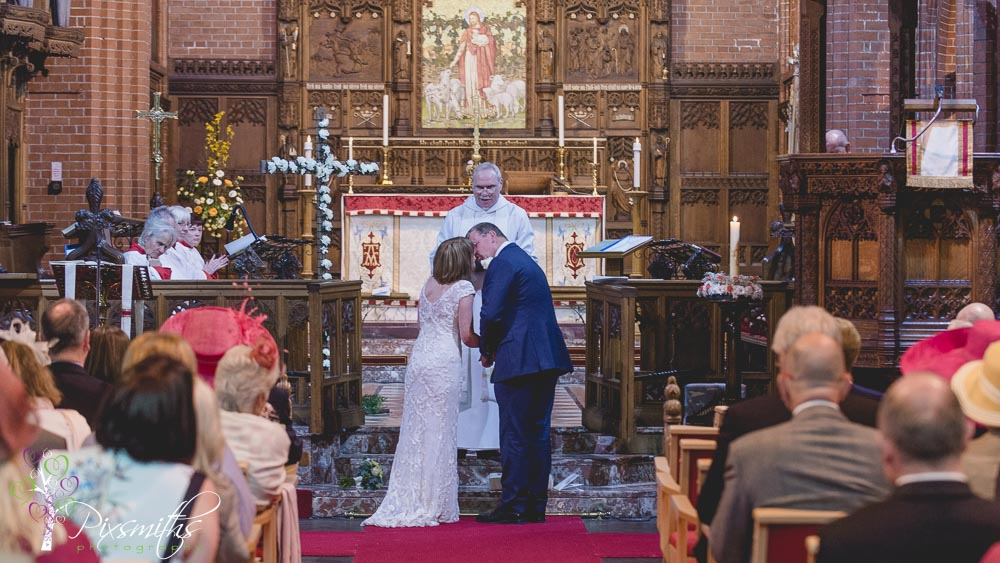 Hoylake wedding photography St Hildeburgh's