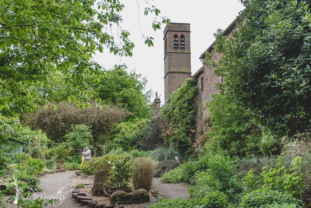 walled garden Royden Park