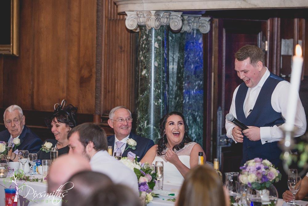 thornton manor wedding photographer sppeches