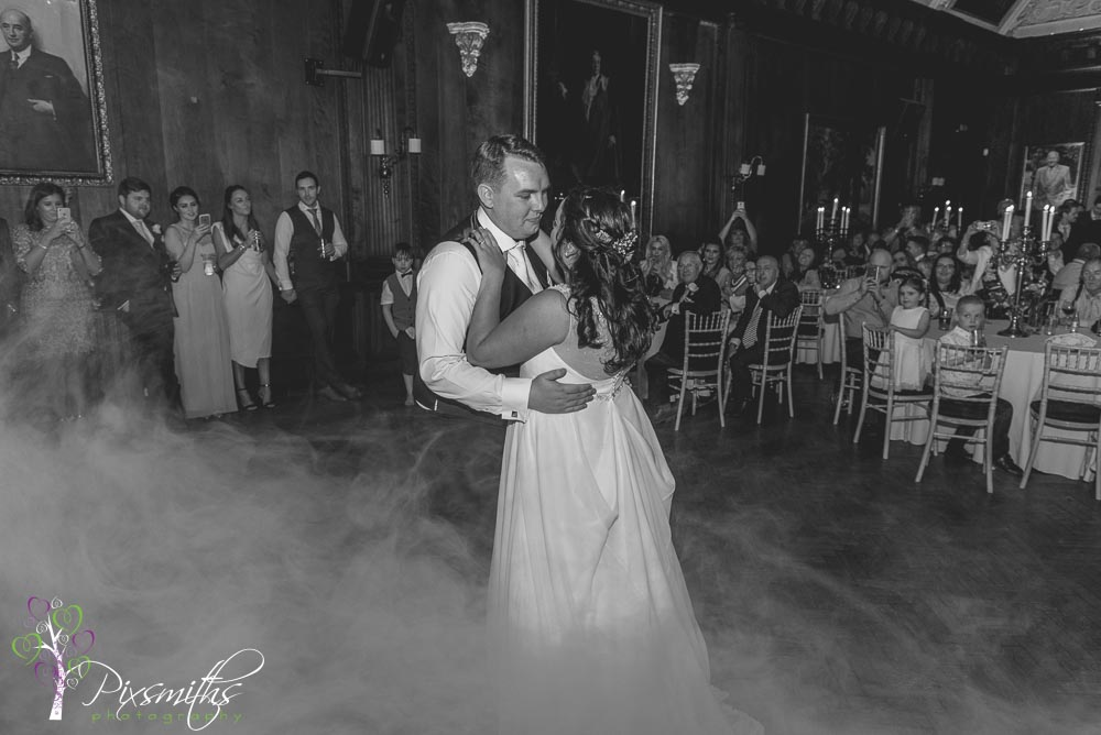 first dance, music room Thornton Manor Thornton Manor wedding photographer