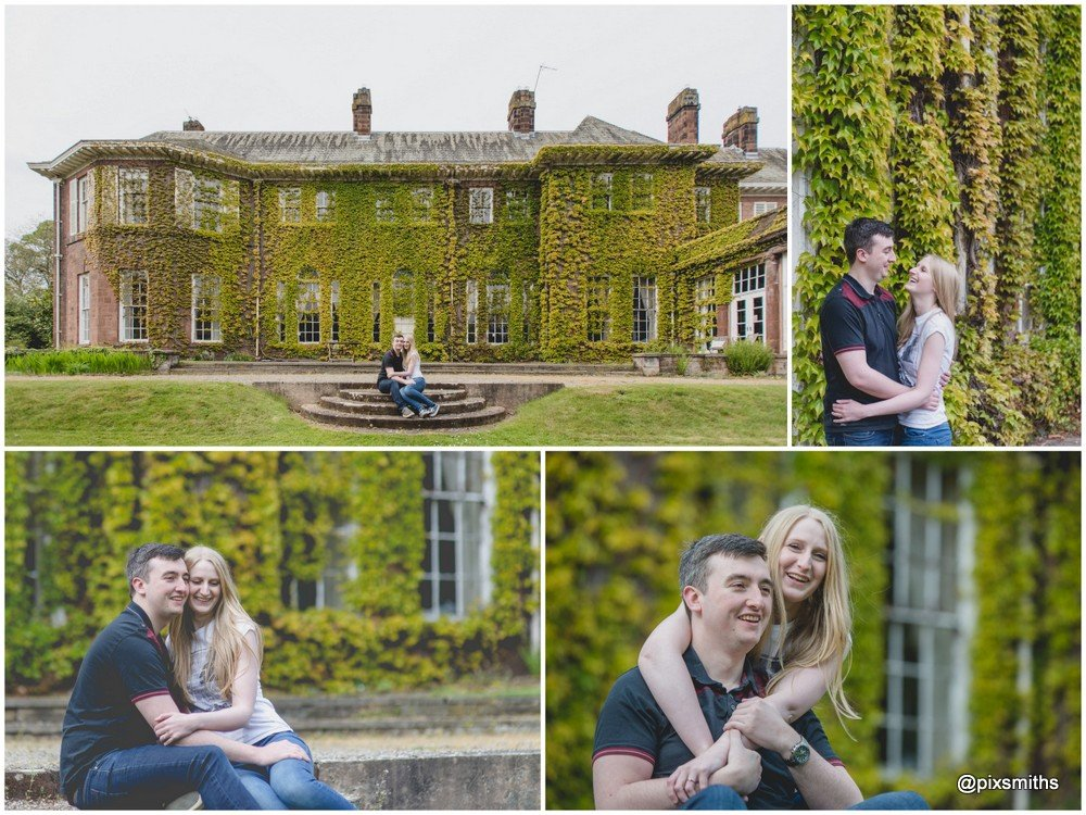 Burton Manor Pre wed Shoot