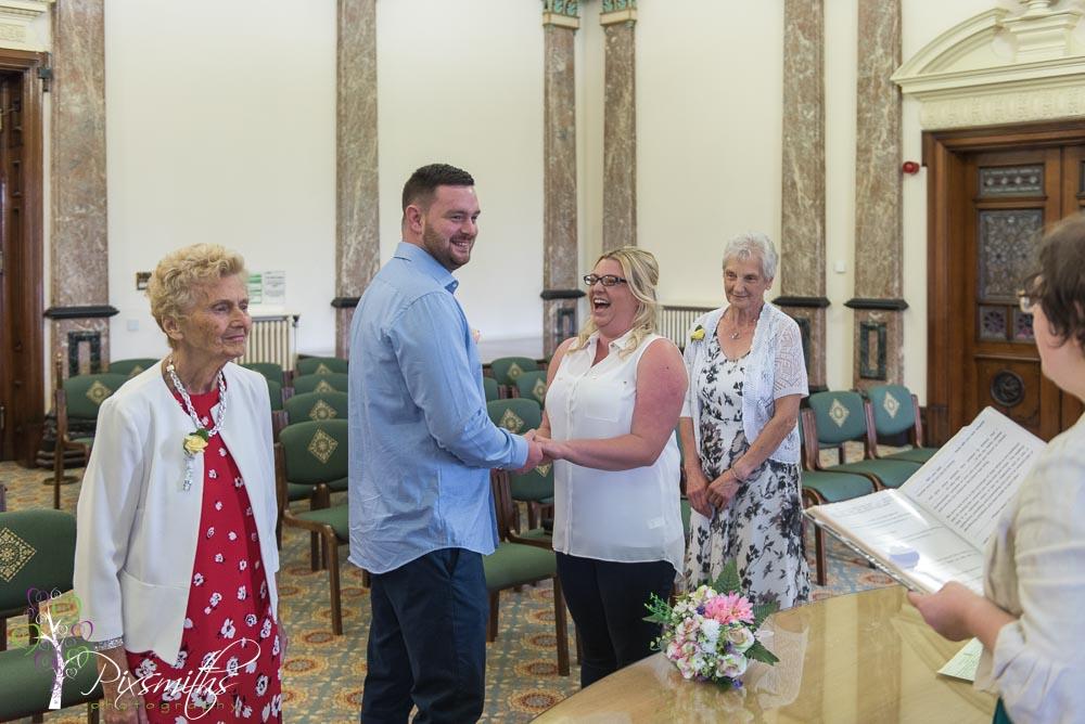 Birkenhead Town Hall elopement