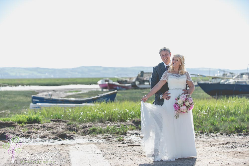 boatyard portraits Sheldrakes wedding photography