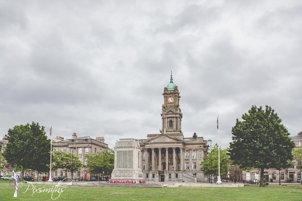Birkenhead Town Hall wedding photography