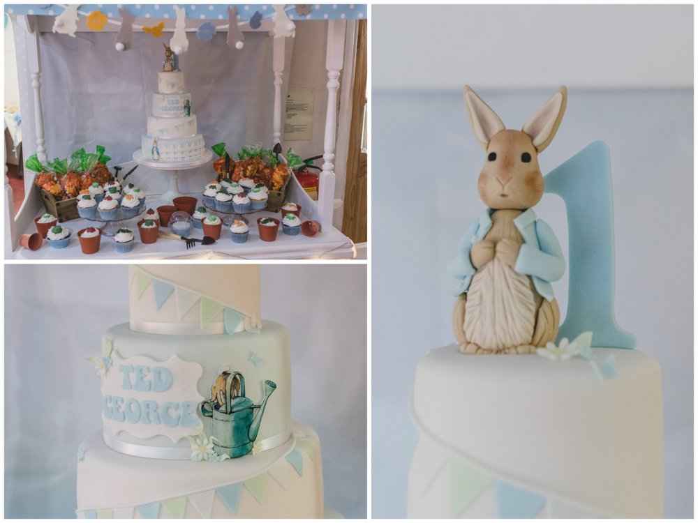 Peter Rabbit cake by Kingfisher cales
