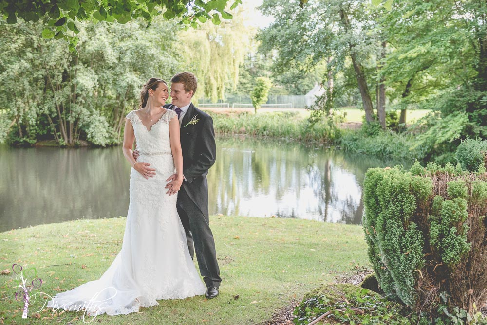 Cheshire wedding Inglewood Manor by the lake