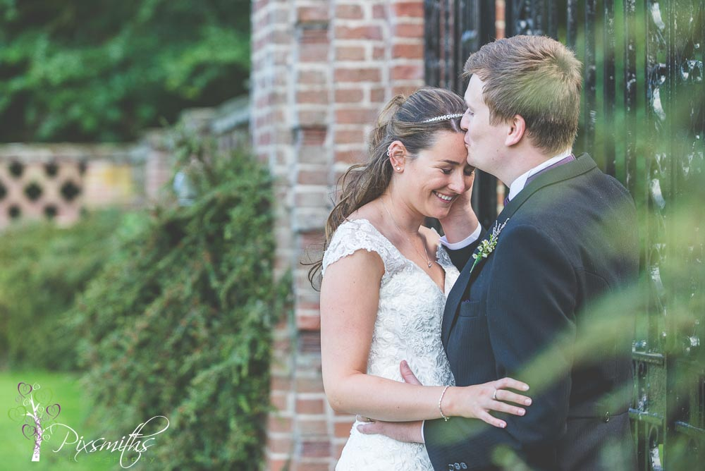 bride and groom having a moment Inglewood Manor Wedding