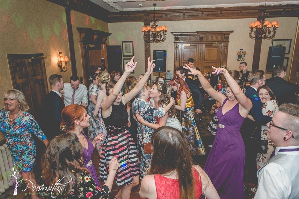 evening dancing fun at Inglewood Manor