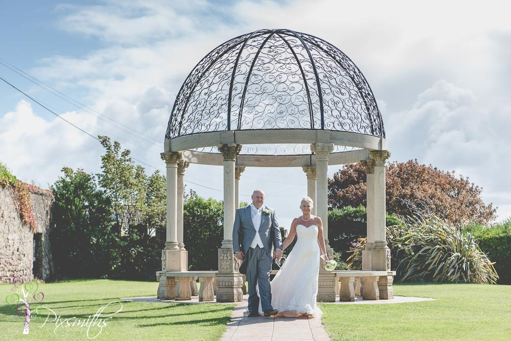 weddign gazebo Leasowe Castle wedding