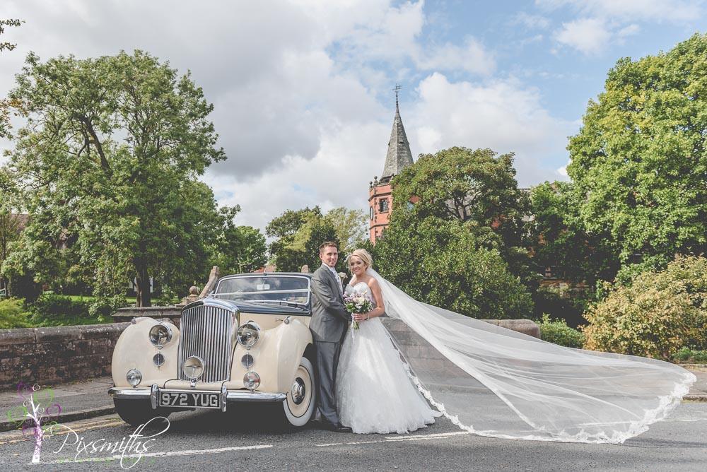 Rowton Hall Wedding Photography: Helen & Sean