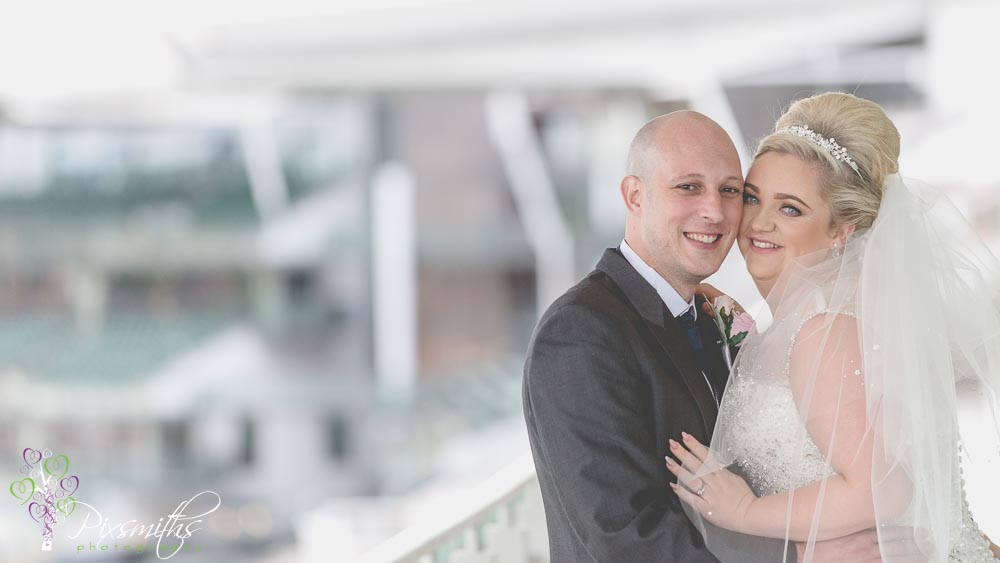 Liverpool Wedding  Aintree Racecourse: Laura & Mark