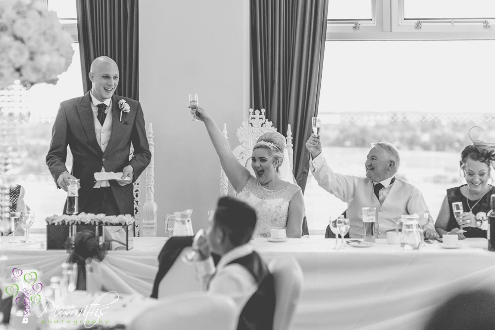 weddign Aintree Racecourse Princess Royal Suite wedding speeches