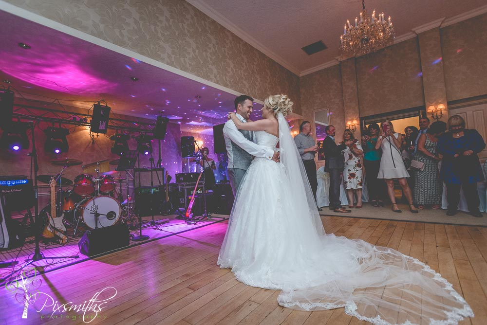 First Dance Rowton Hall wedding
