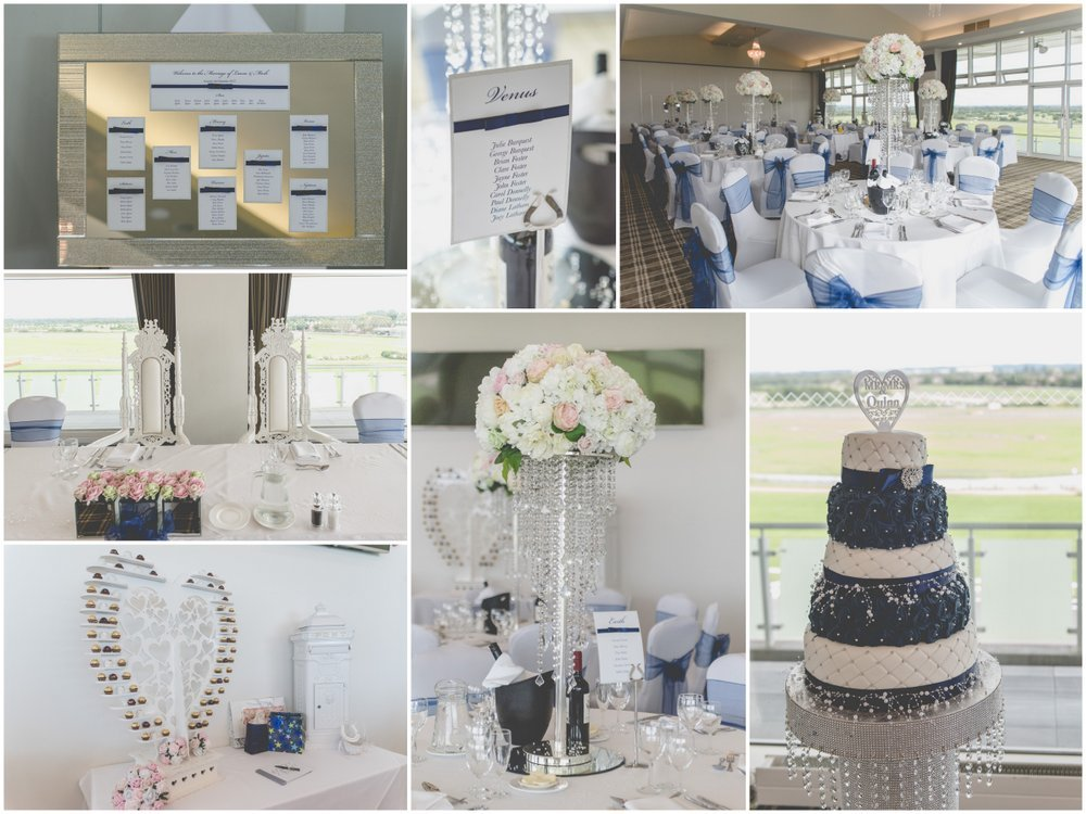 wedding at Aintree Racecourse Princess Royal Suite