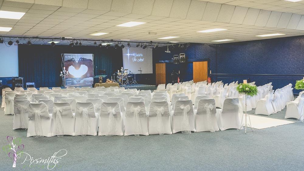Kings Church wedding birkenhead
