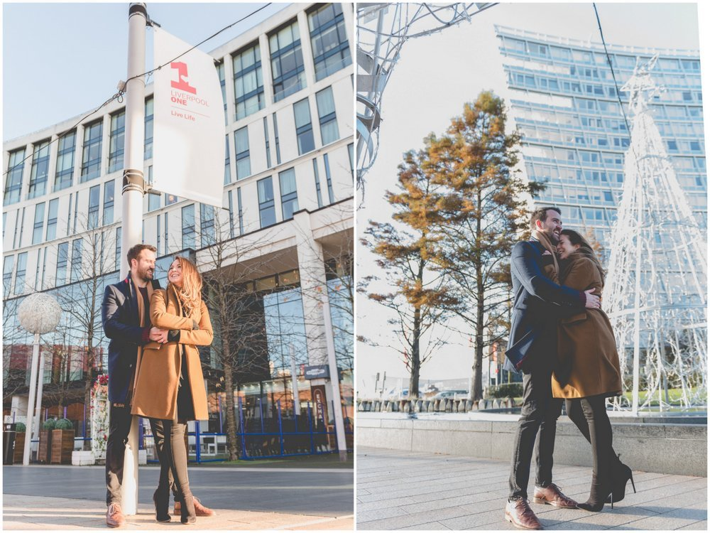 Liverpool city centre engagement shoot