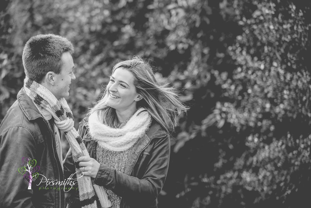 engagement shoot Royden Park