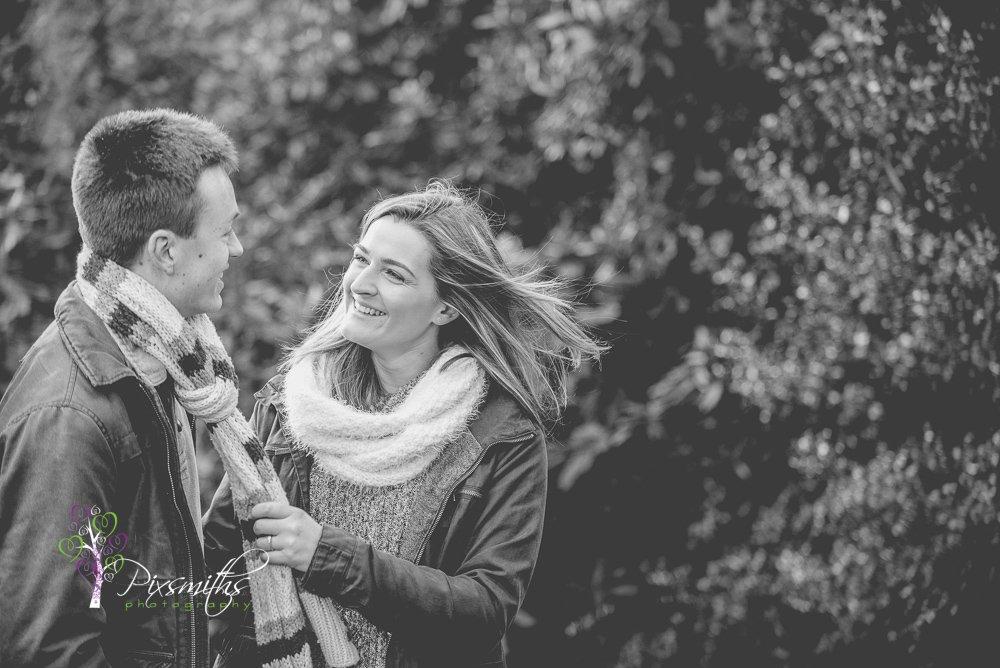 engagement shoot Royden Park