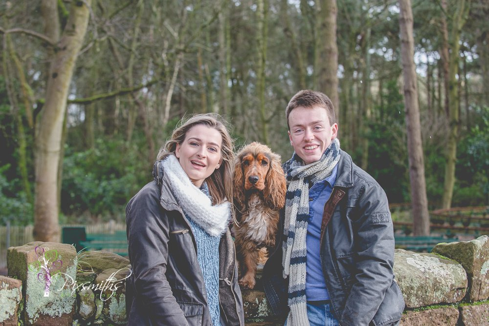 wirral country park engagement shoot