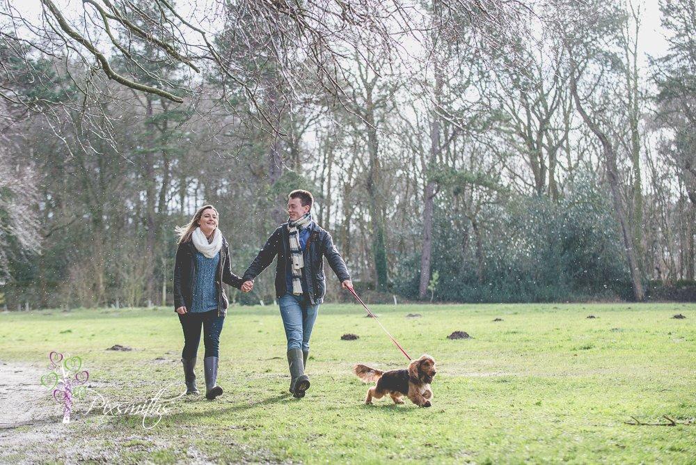 Wirral engagement shoot Royden Park