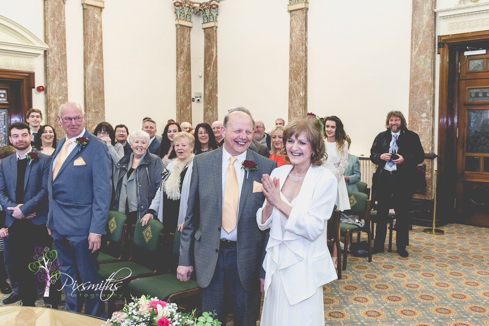 civil ceremony Birkenhead town hall