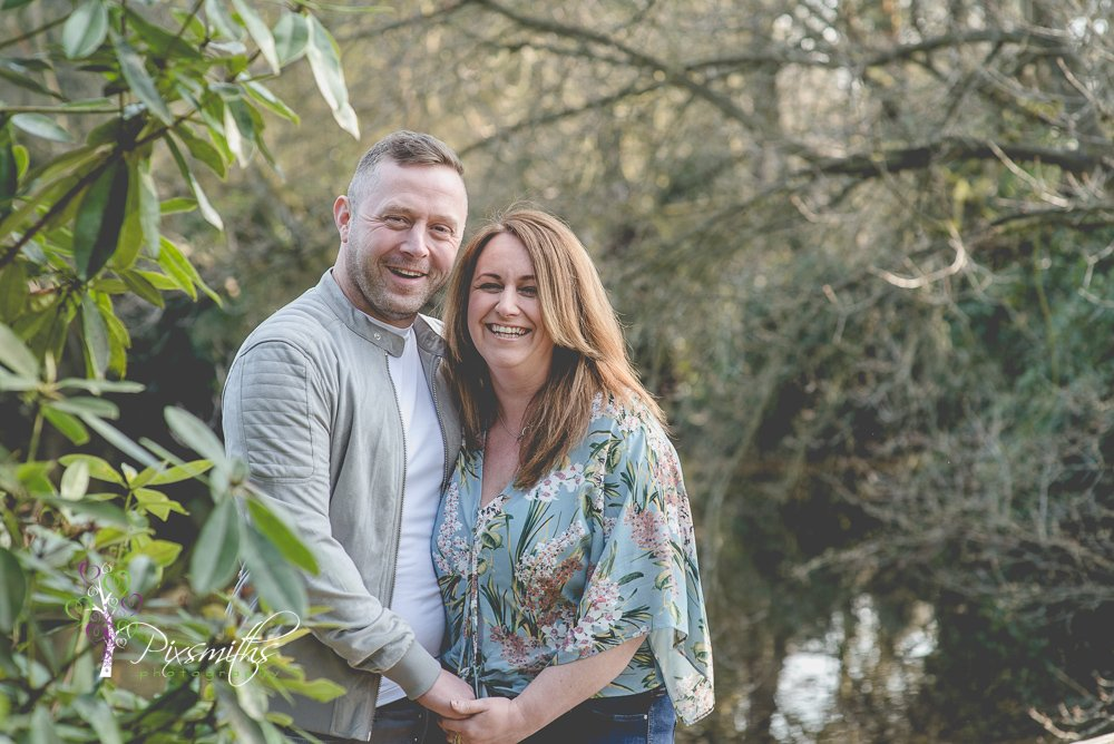 couple shoot Royden Park