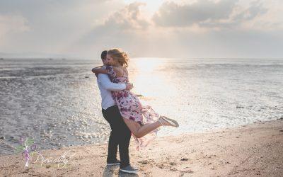 Stephanie & Warren: Springtime Engagement Shoot Burton Manor