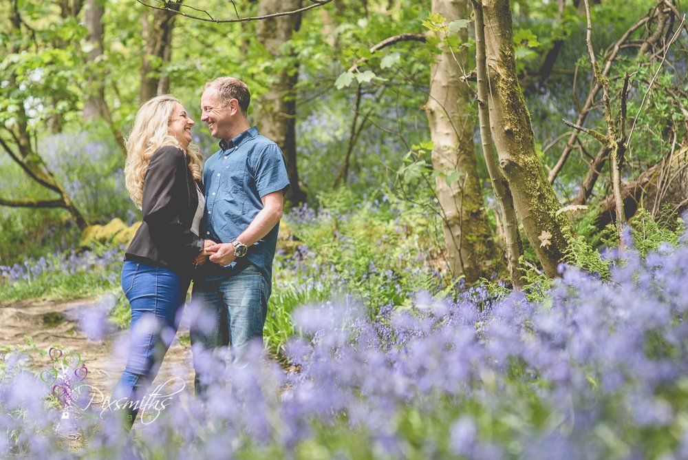 Hardcastle Crags photo shoot , engagement shoot