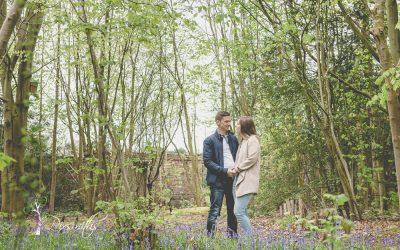 Sarah and Chris: Pre Wedding Shoot Royden Country Park