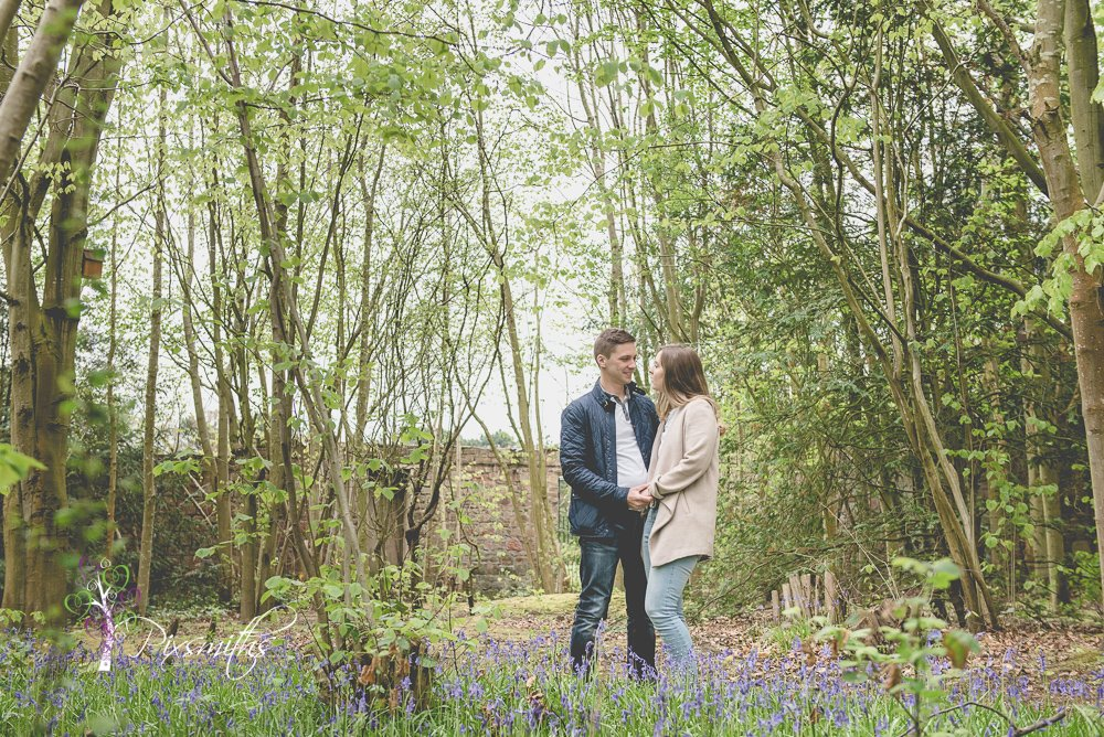 Sarah and Chris: Pre Wedding Shoot Royden Country Park