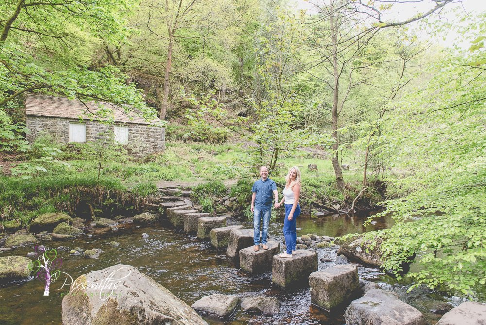 stepping stones Hardcastle Crags