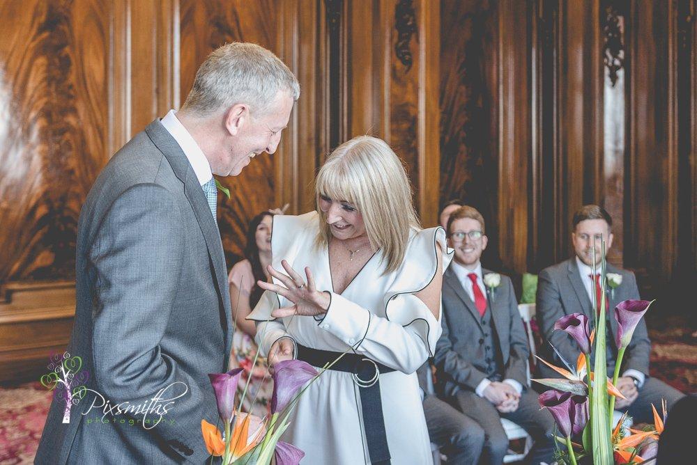 wedding ceremony Liver Building boardroom