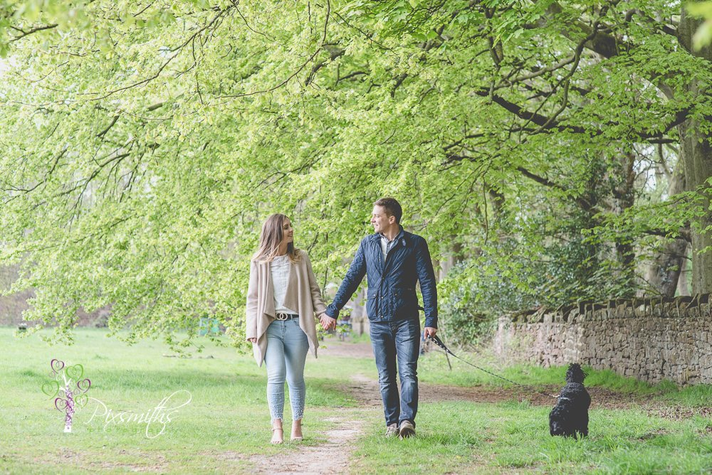 Royden Country Park spring Wirral engagement shoot