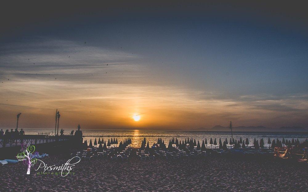 sunet town beach Santa Maria di Castellabate
