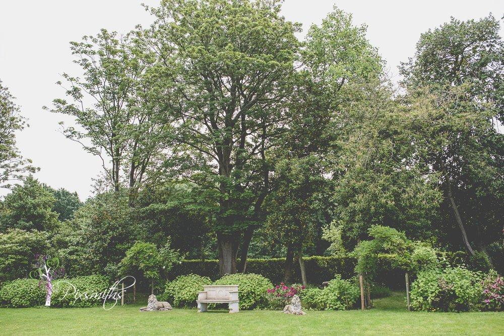 gardens at Mere Brok House