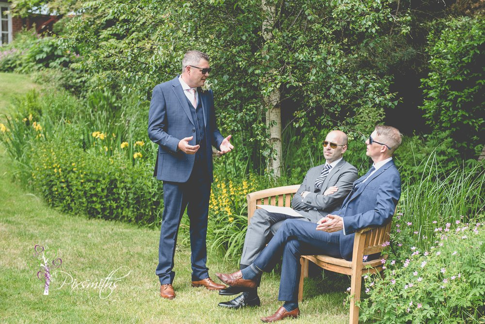relaxed mere Brook House wedding Photography