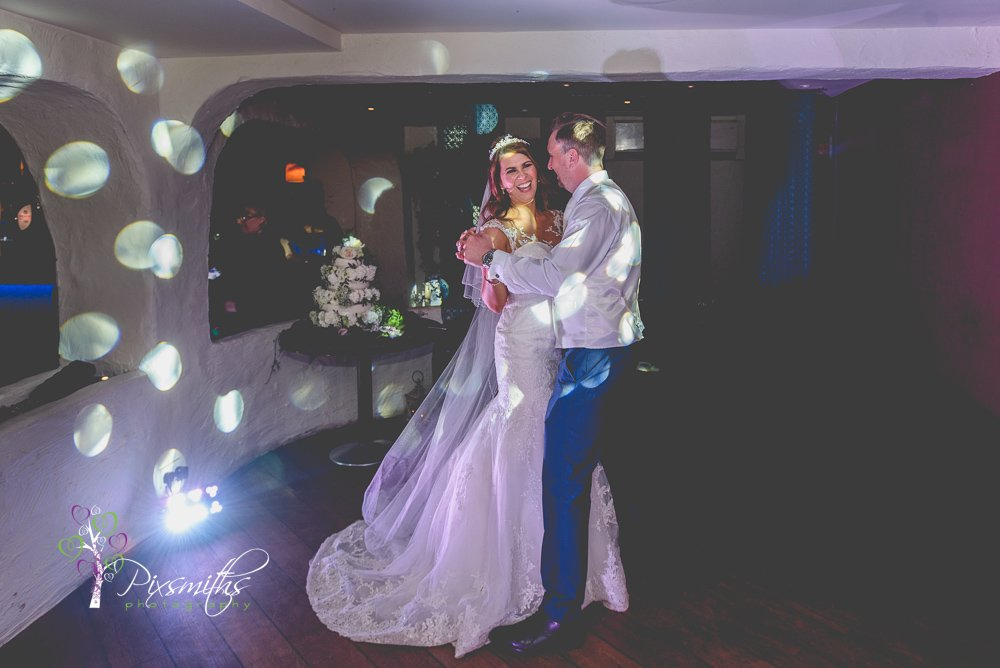 Sheldrake wedding photographer capturing first dance