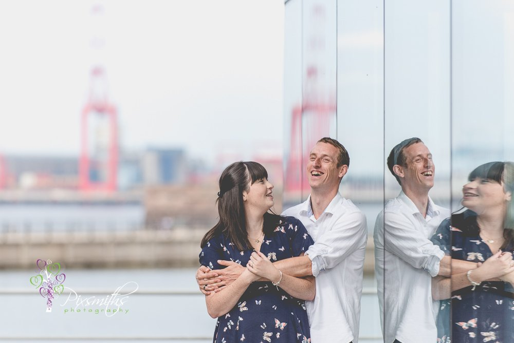 Kathryn & Chris Pre wed Shoot New Brighton
