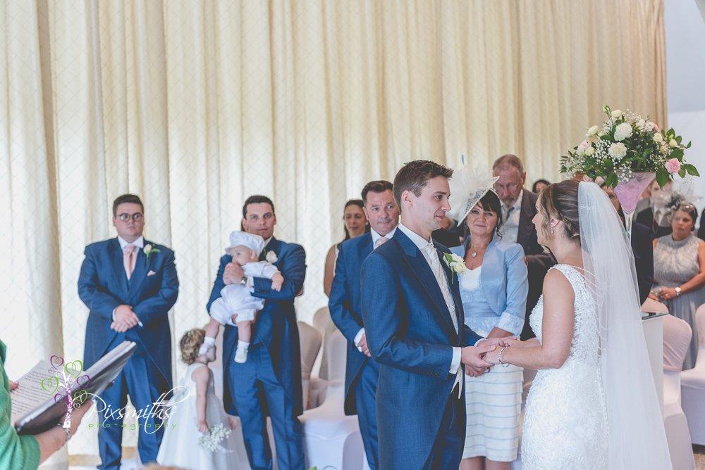 civil ceremony, vows Leverhulme Hotel Wedding