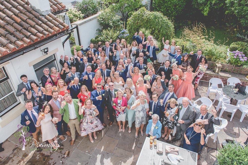 group shot wedding Belle Epoque