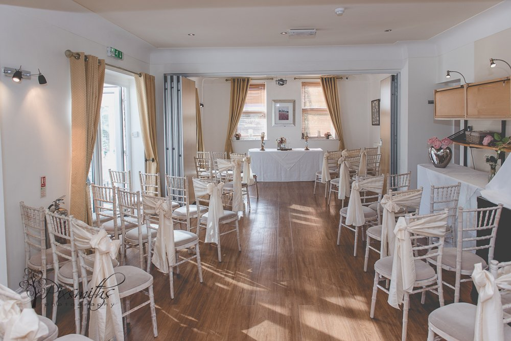 Peel hey Wedding ceremony room