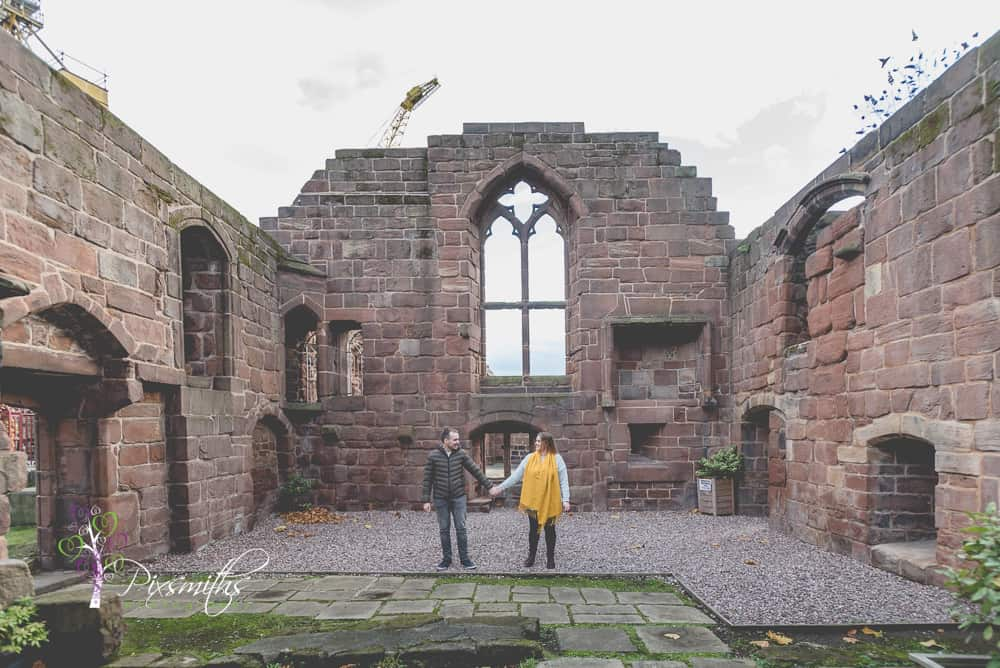 Historic Birkenhead Priory ruins