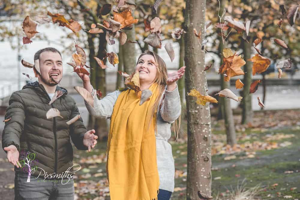 Historic Birkenhead Priory Pre Wedding Shoot