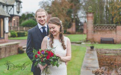 Festive Winter Inglewood Manor Wedding